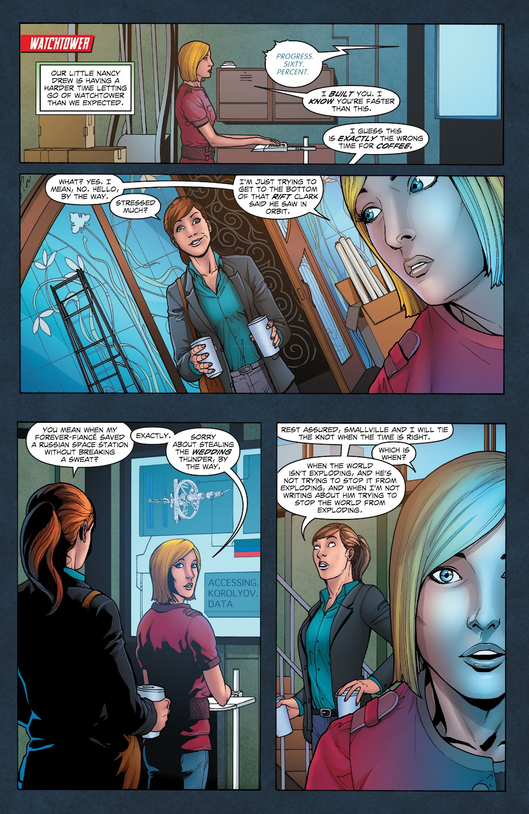 Read online Smallville Season 11 [II] comic -  Issue # TPB 1 - 34