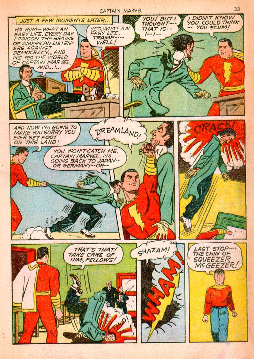 Captain Marvel Adventures issue 10 - Page 33