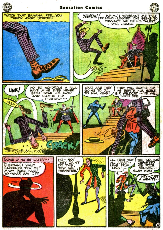 Read online Sensation (Mystery) Comics comic -  Issue #64 - 47