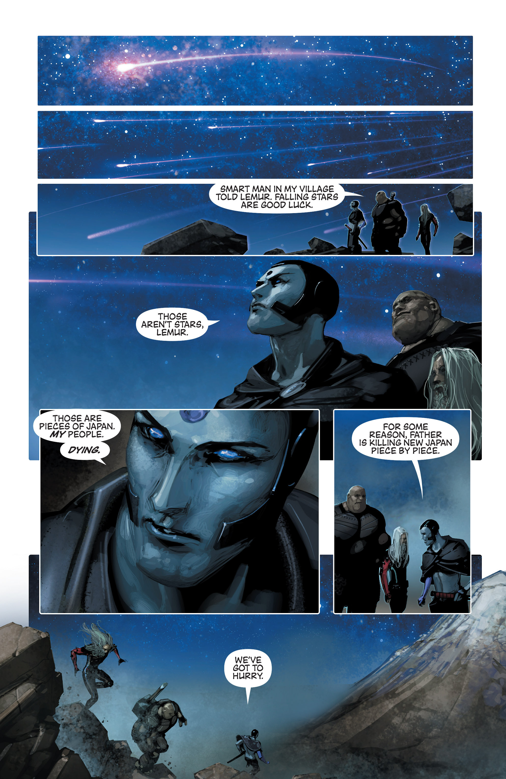 Read online 4001 A.D. comic -  Issue #1 - 17