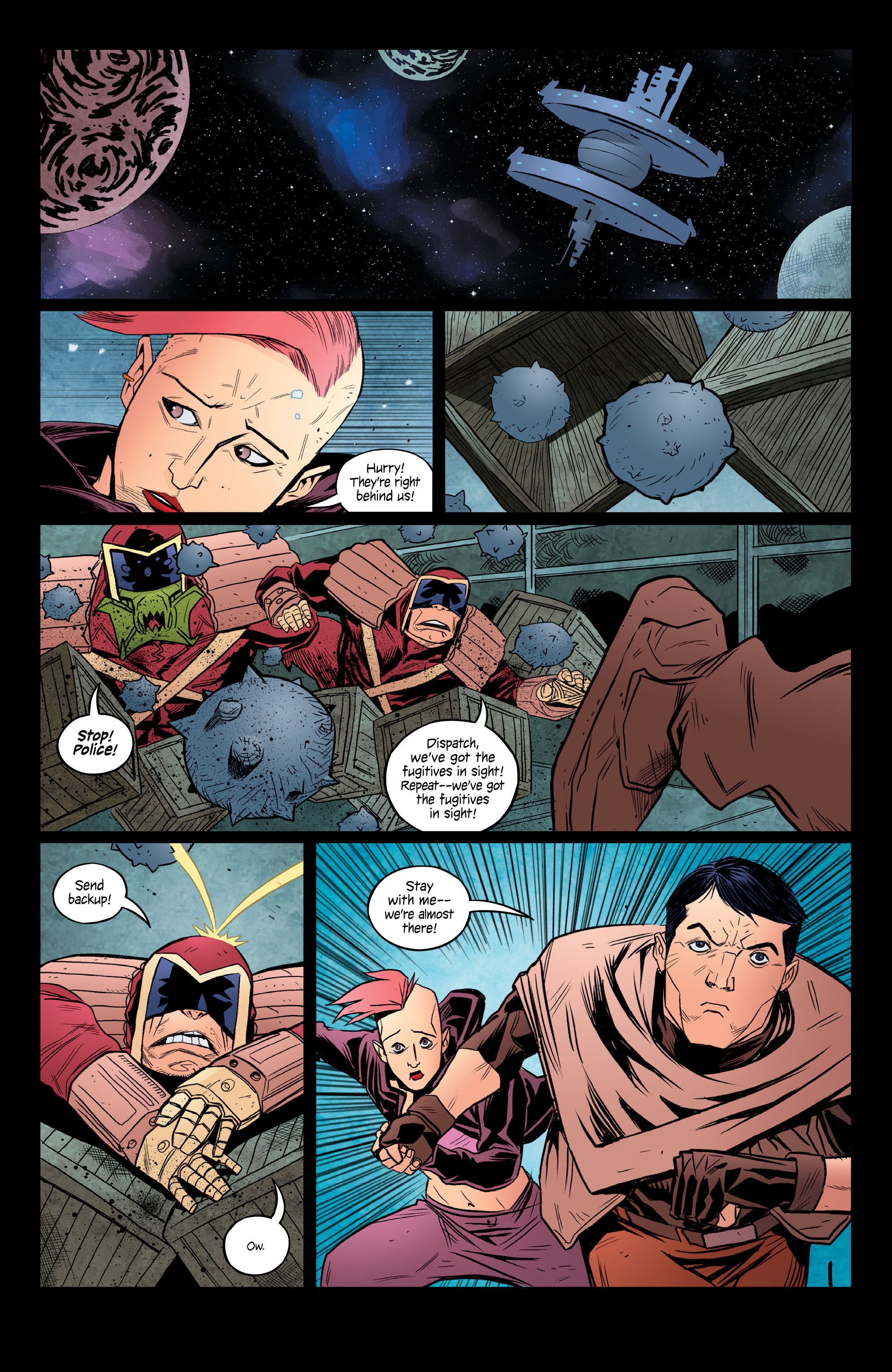 Read online Copperhead comic -  Issue #14 - 10