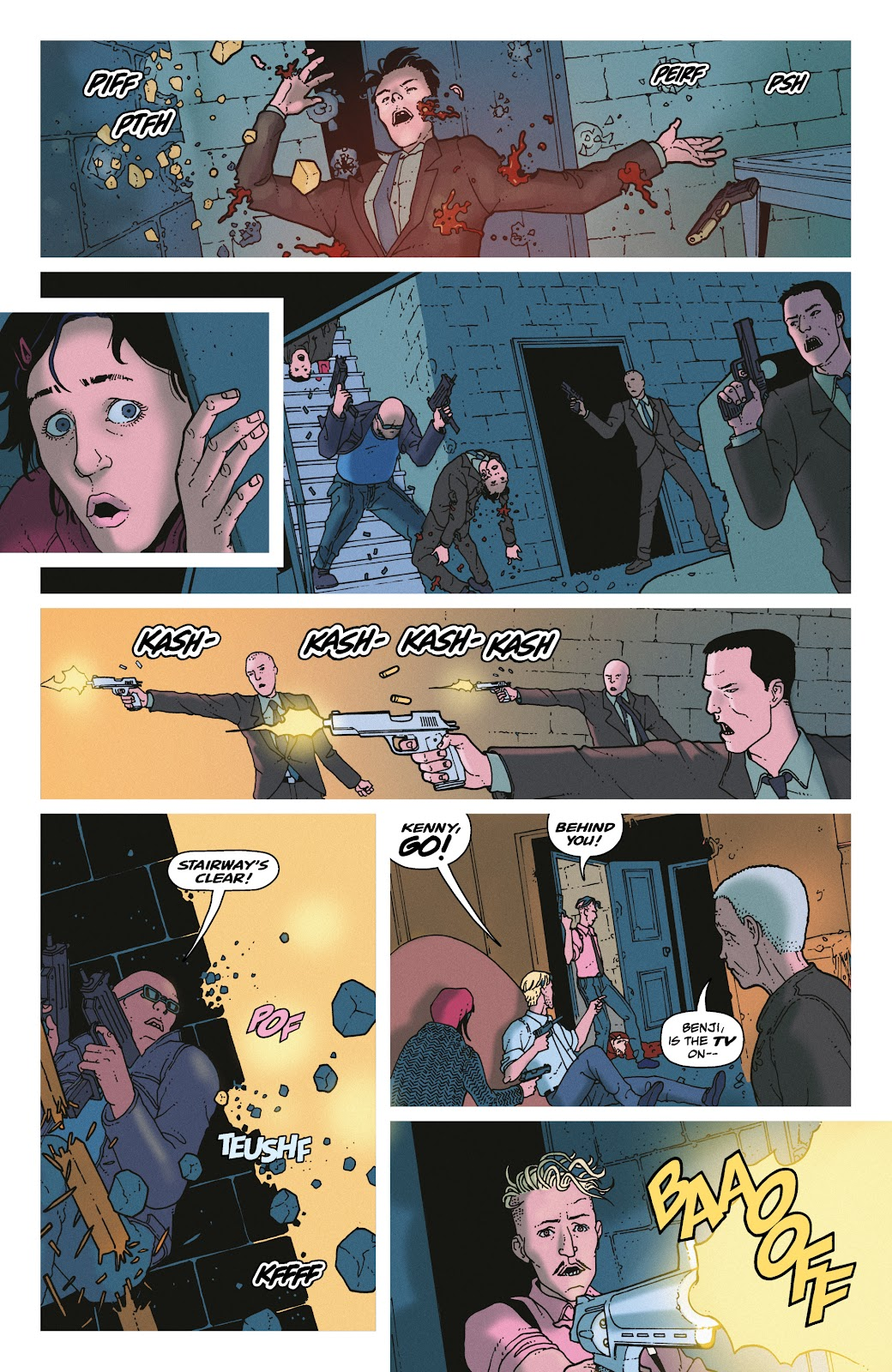 Read online She Could Fly comic -  Issue # _TPB - 125