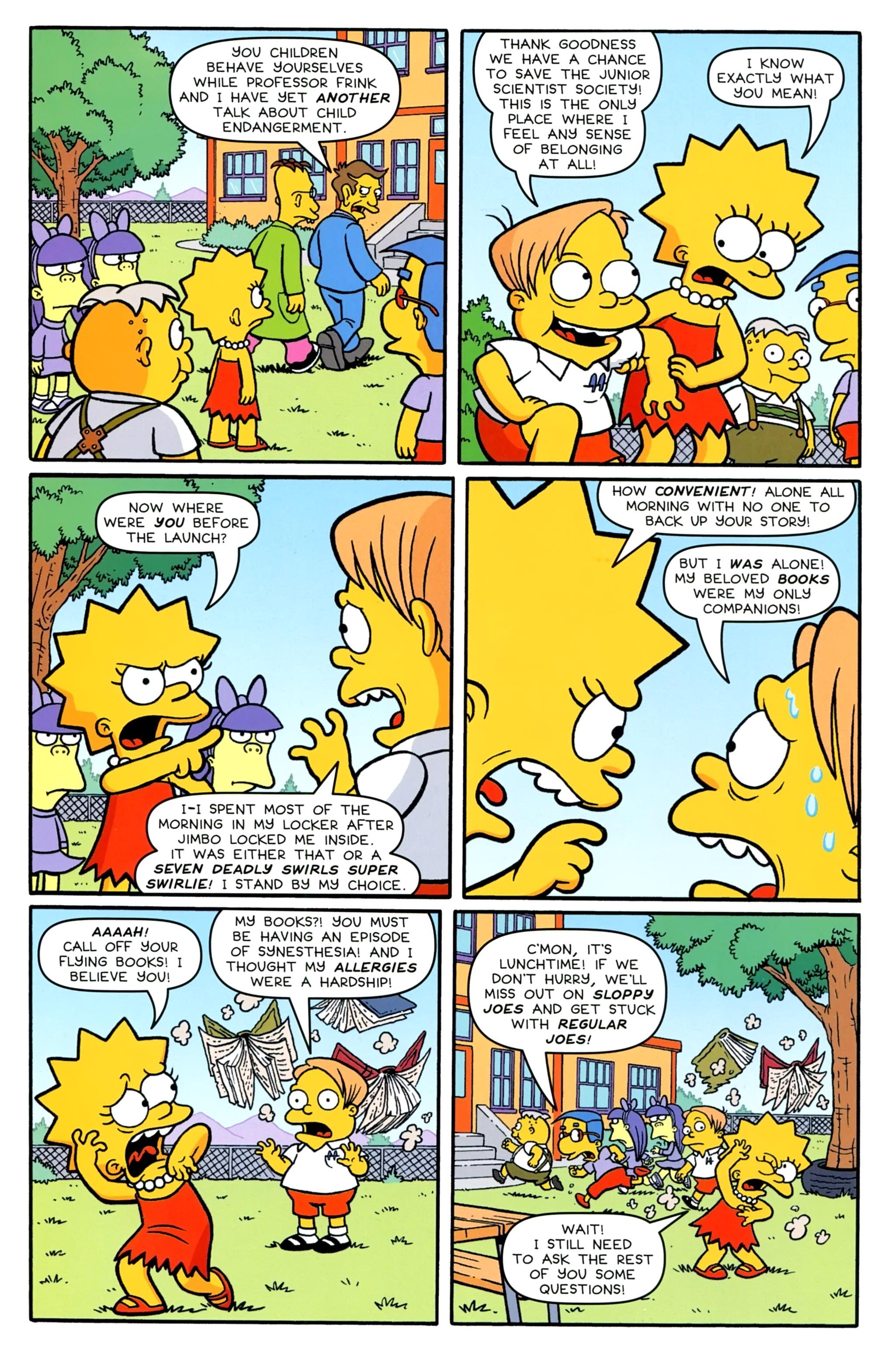 Read online Simpsons Comics comic -  Issue #231 - 18