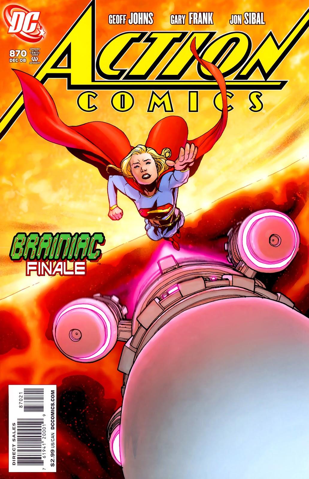 Action Comics (1938) 870 Page 1