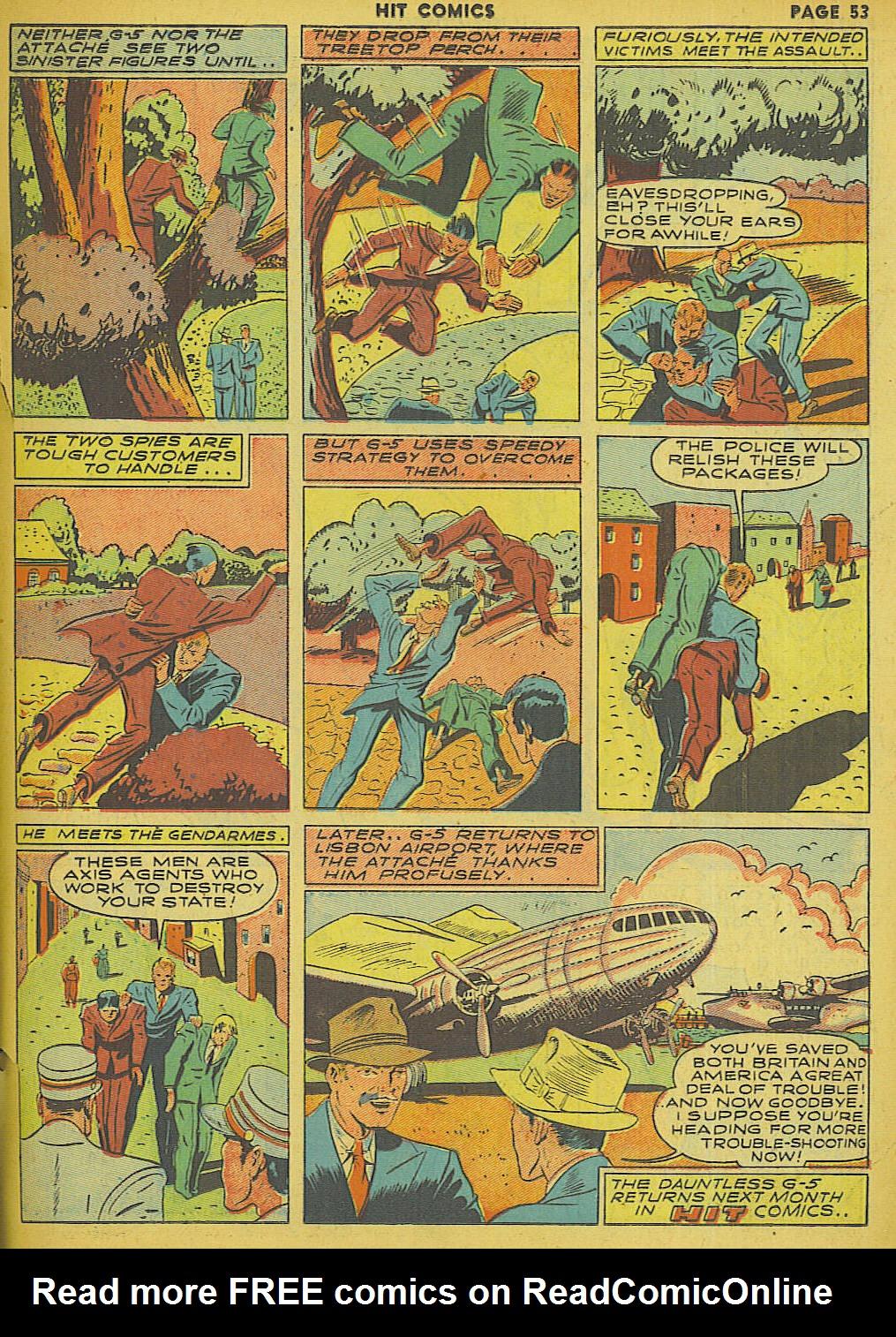 Read online Hit Comics comic -  Issue #13 - 55