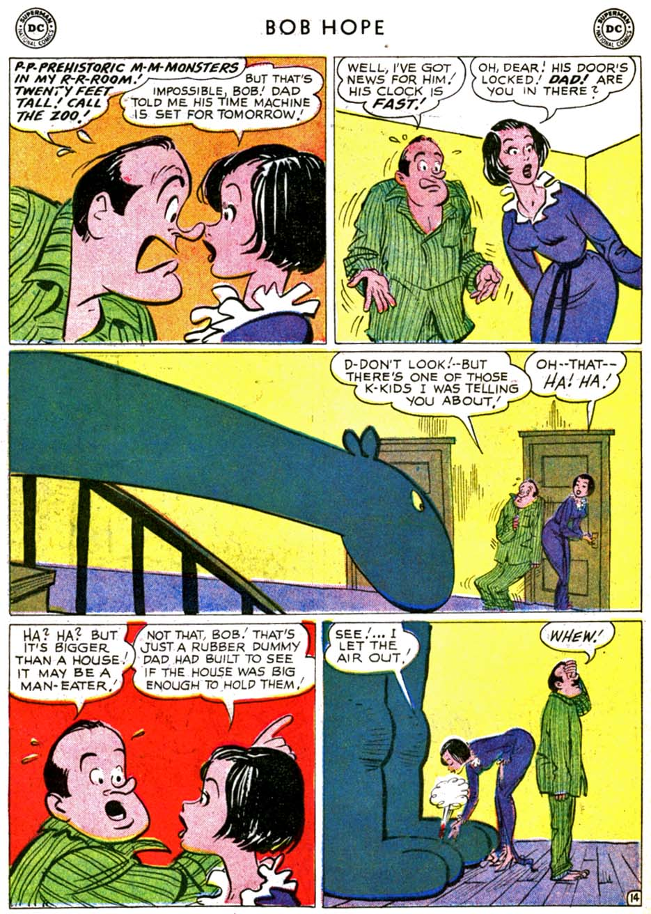 The Adventures of Bob Hope issue 69 - Page 18