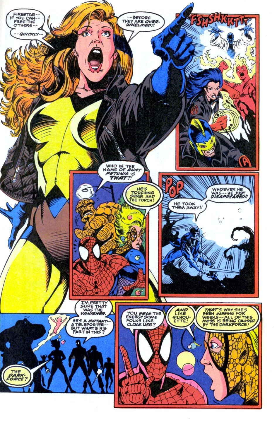 The New Warriors Issue #33 #37 - English 20