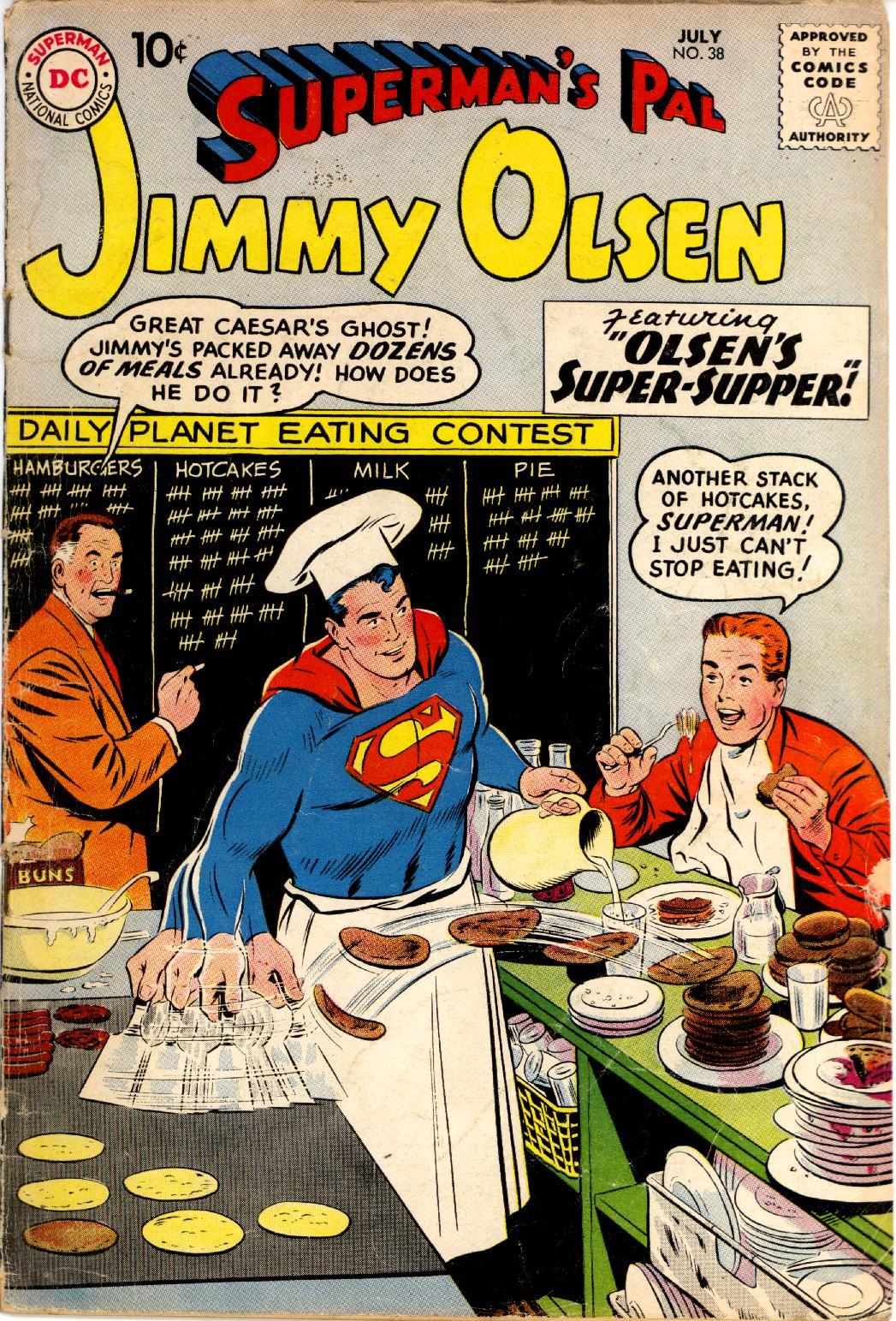 Supermans Pal Jimmy Olsen (1954) 38 Page 1