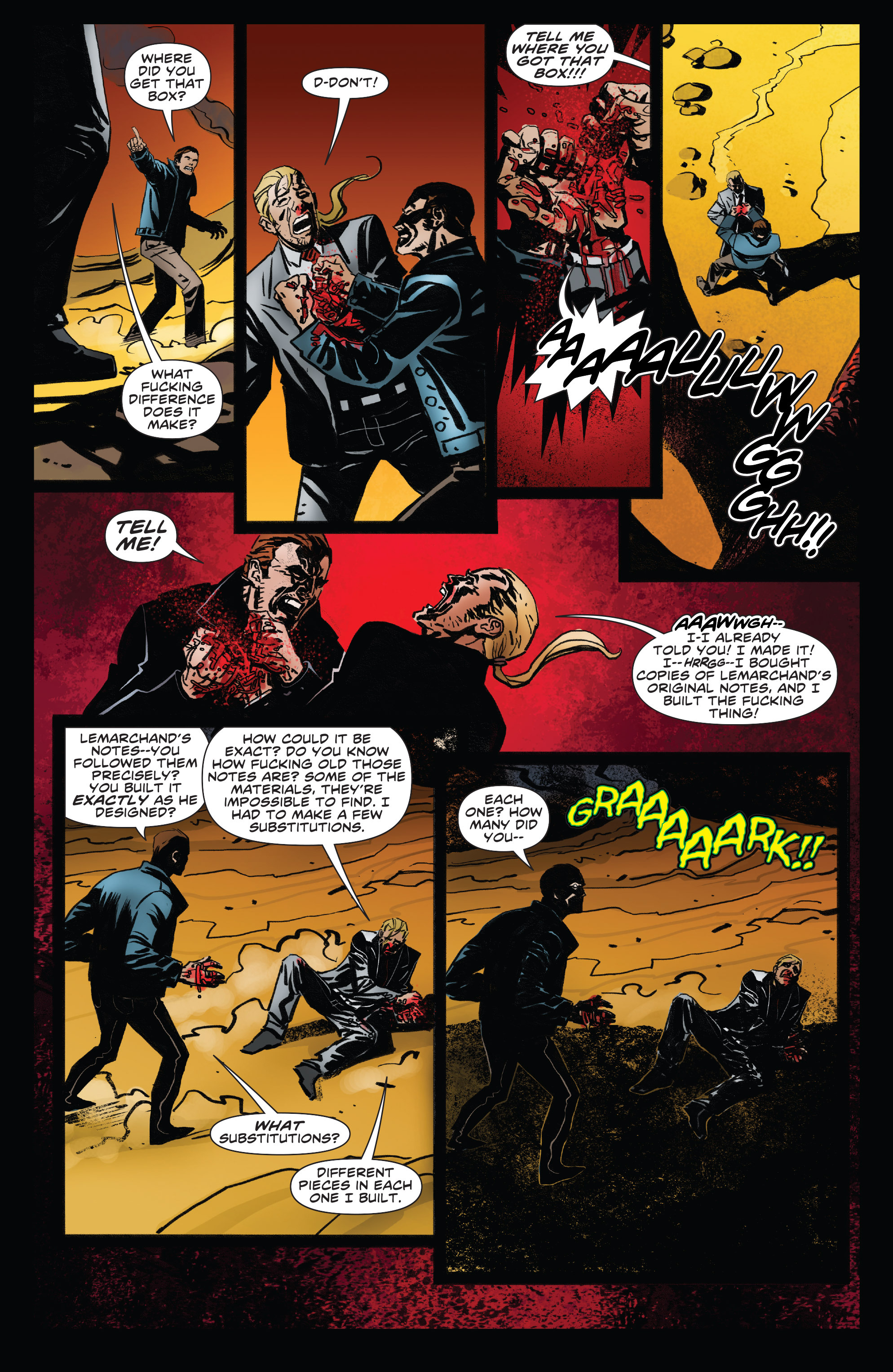 Read online Clive Barker's Hellraiser: The Dark Watch comic -  Issue # TPB 3 - 25