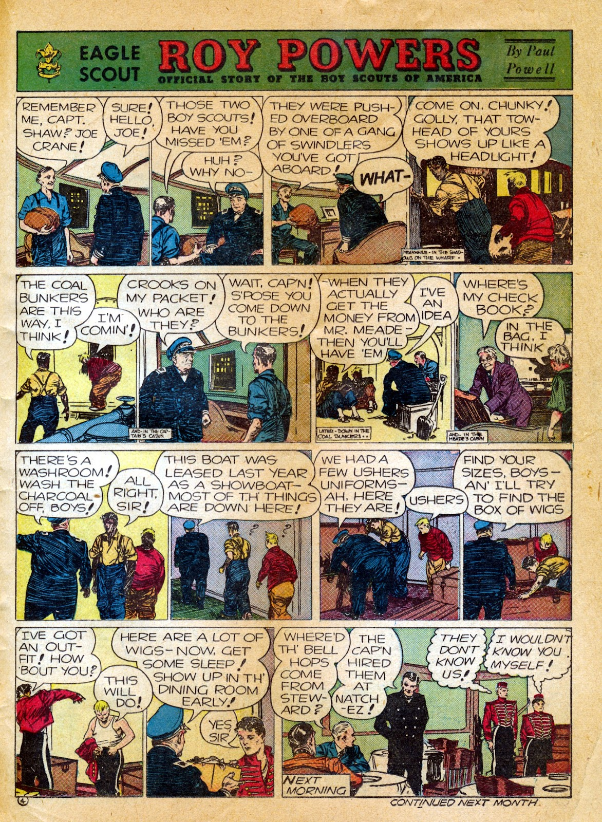 Read online Famous Funnies comic -  Issue #82 - 45