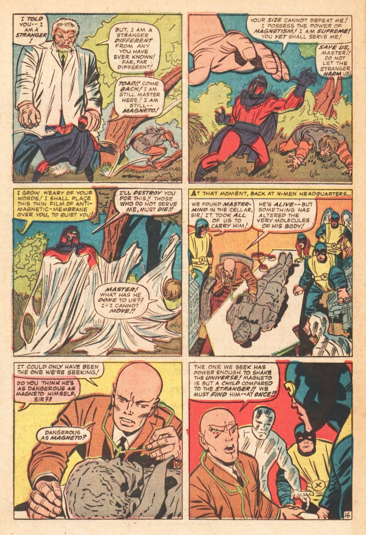 Read online Uncanny X-Men (1963) comic -  Issue # _Annual 1 - 45