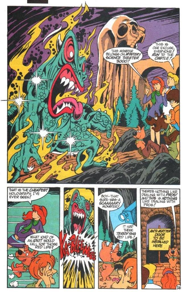 Read online Scooby-Doo (1995) comic -  Issue #5 - 17