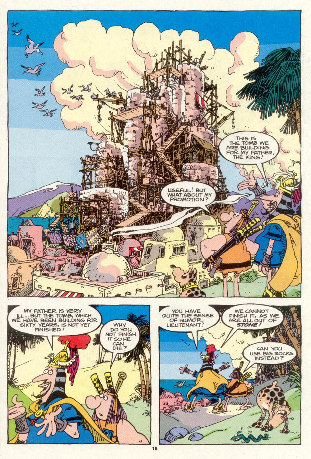 Read online Sergio Aragonés Groo the Wanderer comic -  Issue #87 - 17