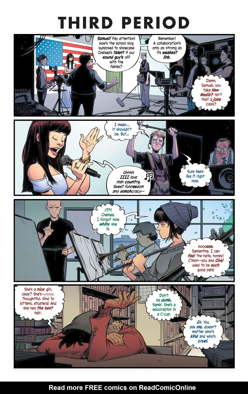Read online Alienated comic -  Issue #1 - 16