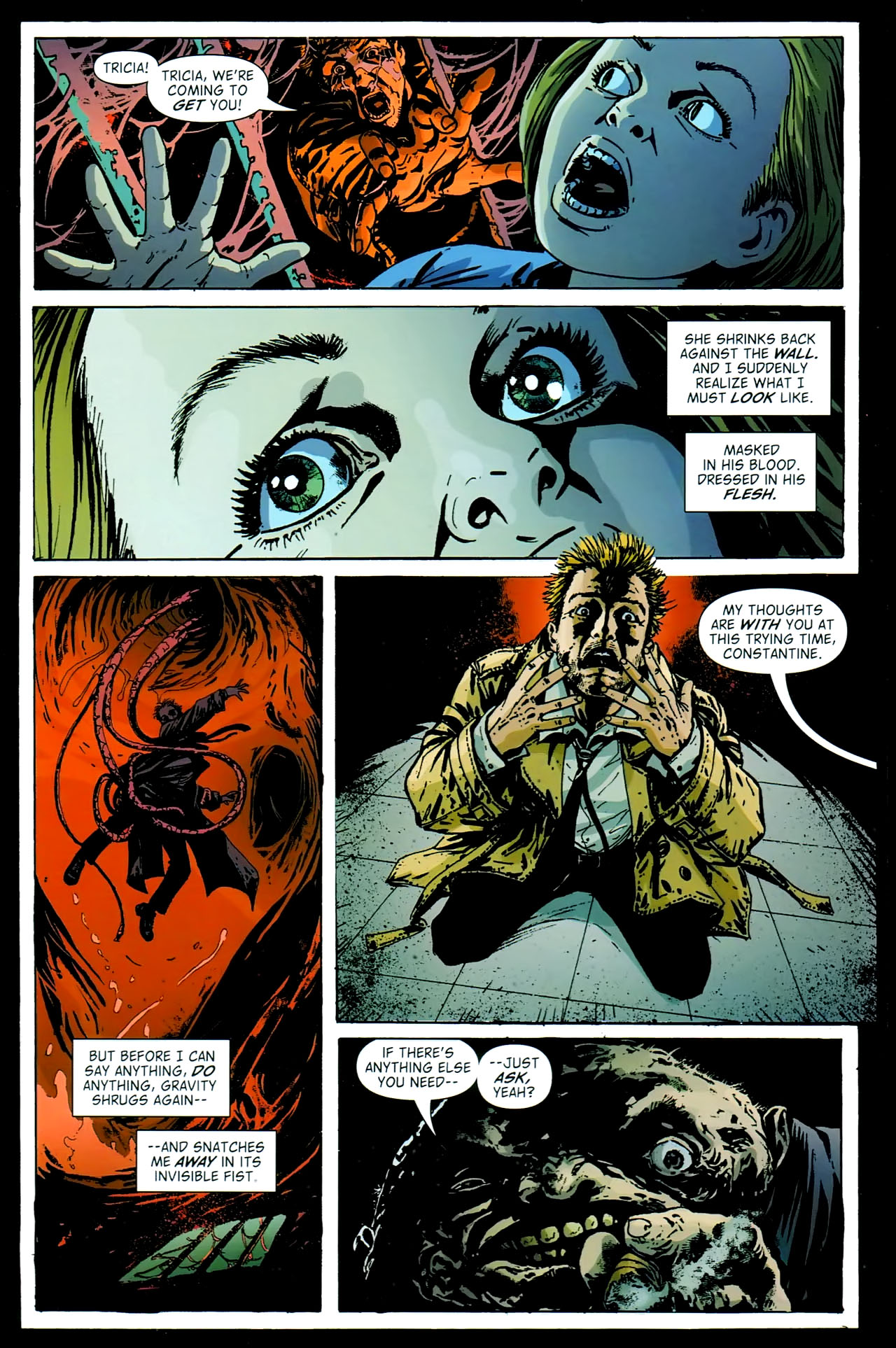Read online John Constantine Hellblazer: All His Engines comic -  Issue # Full - 53