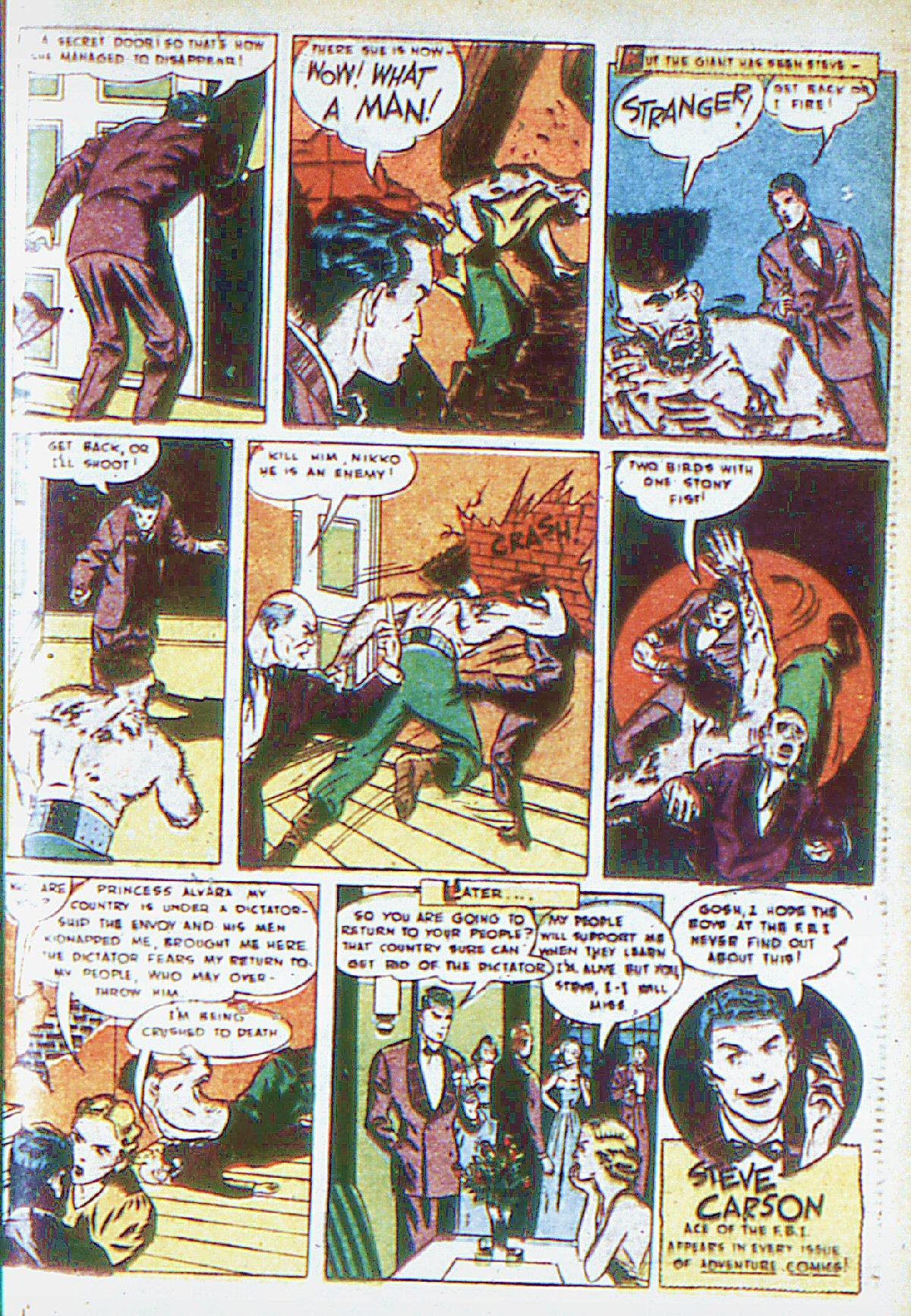 Read online Adventure Comics (1938) comic -  Issue #66 - 50