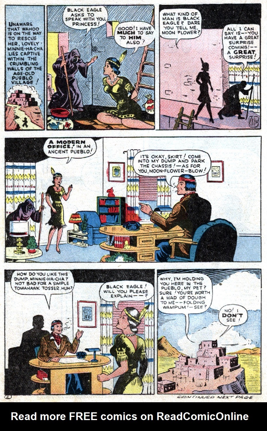 Read online Famous Funnies comic -  Issue #121 - 36