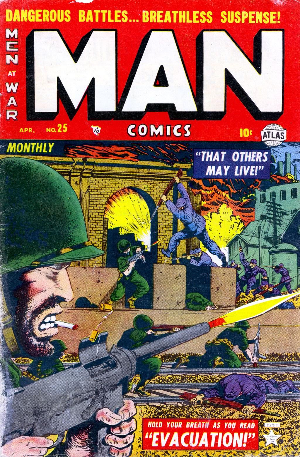 Man Comics 25 Page 1