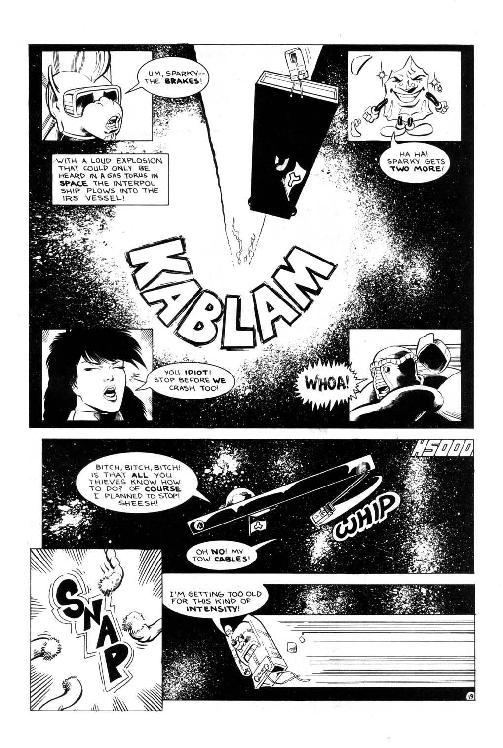 Aristocratic Xtraterrestrial Time-Traveling Thieves issue 7 - Page 21
