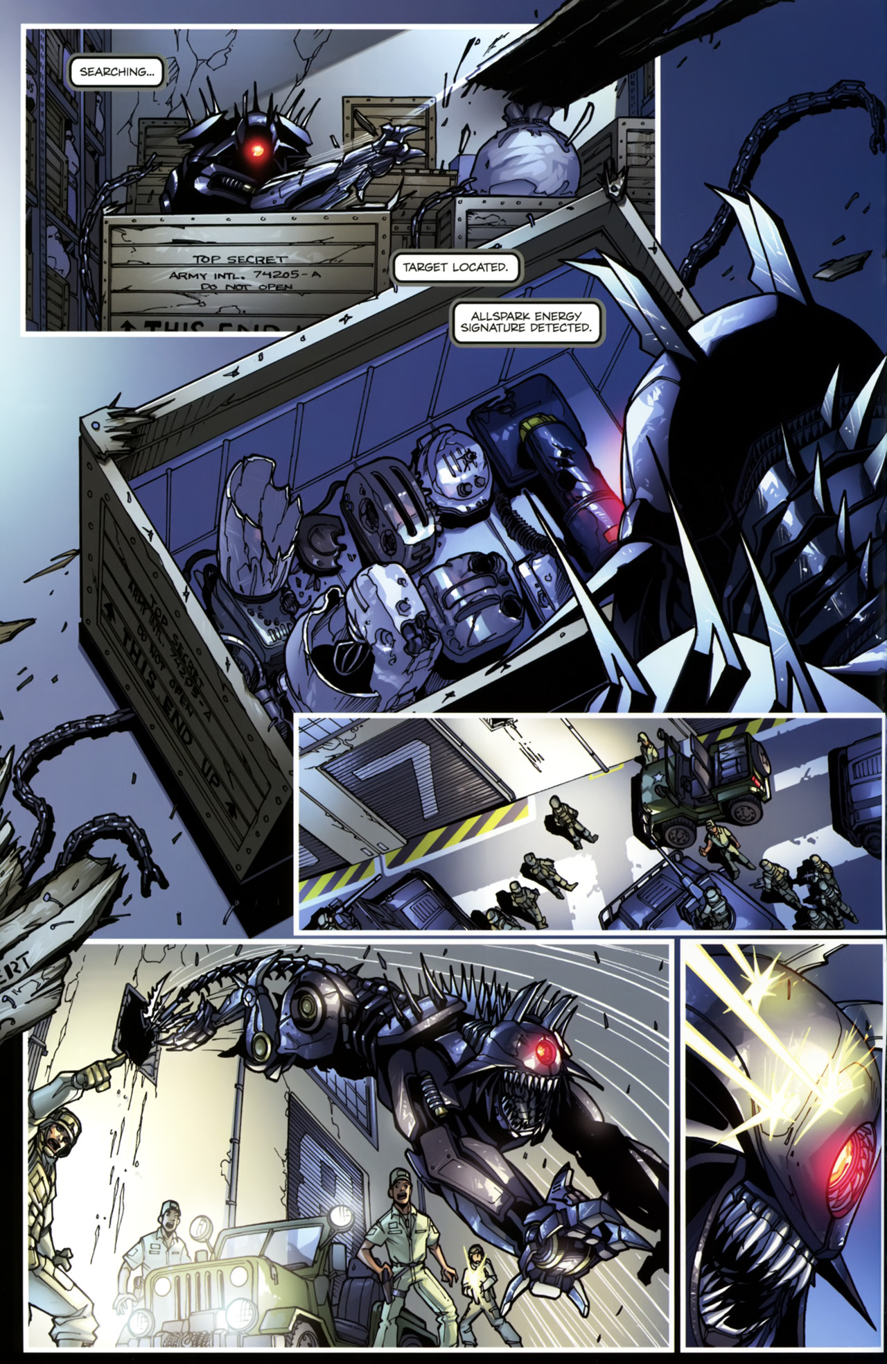 Read online Transformers: Tales of The Fallen comic -  Issue #5 - 6