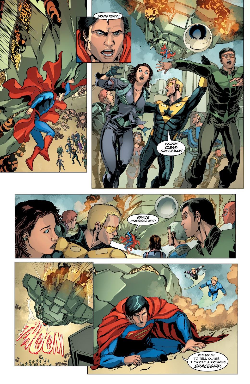Read online Smallville Season 11 [II] comic -  Issue # TPB 4 - 25