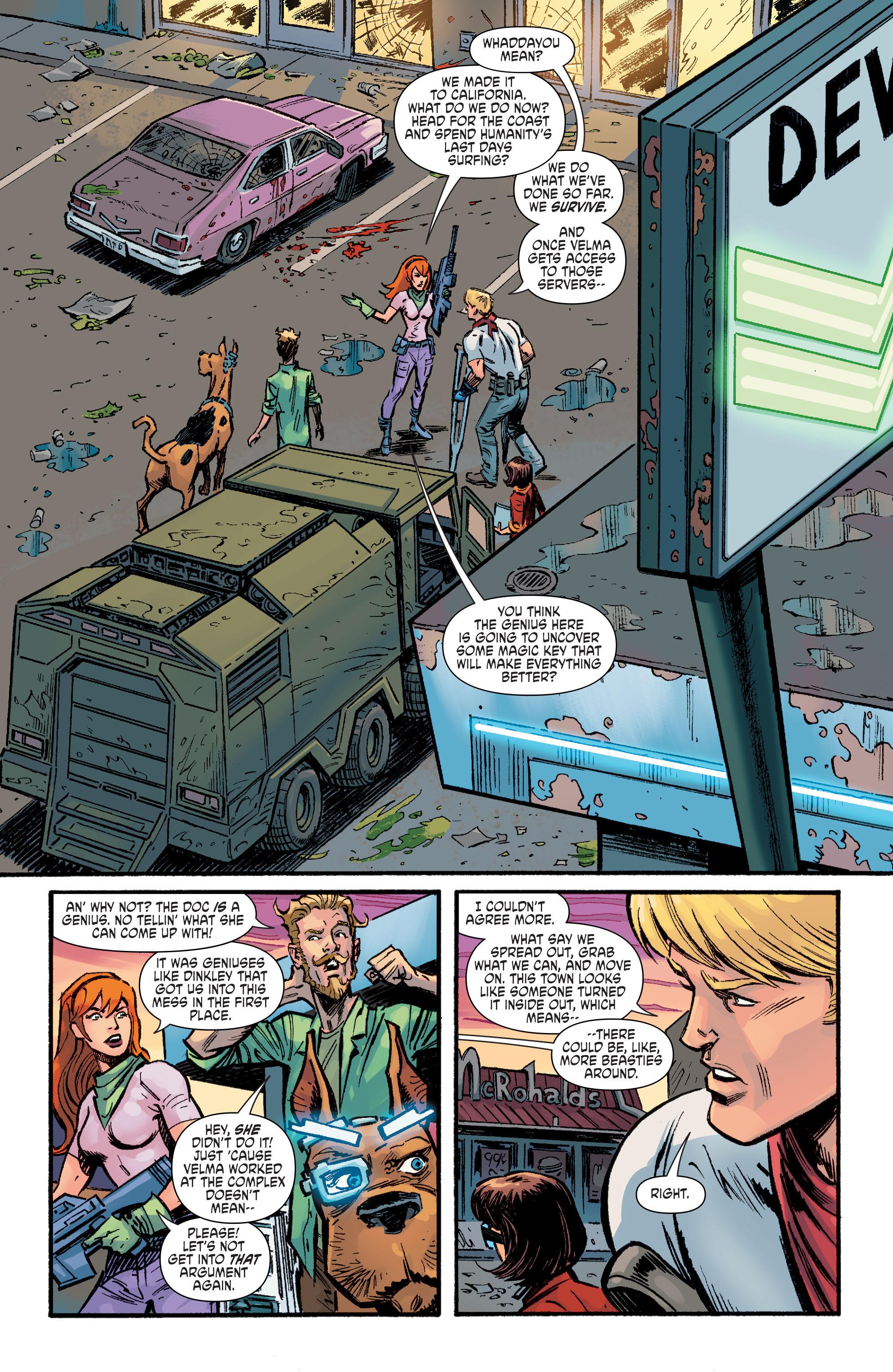 Read online Scooby Apocalypse comic -  Issue #9 - 10