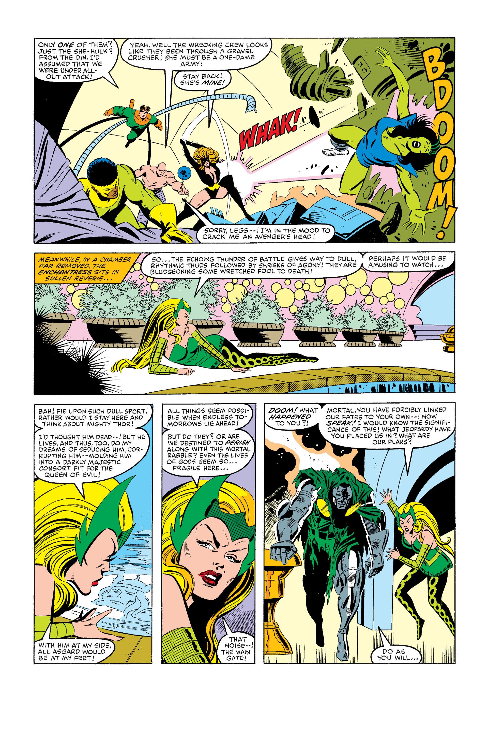 Read online Secret Wars (1985) comic -  Issue #7 - 21