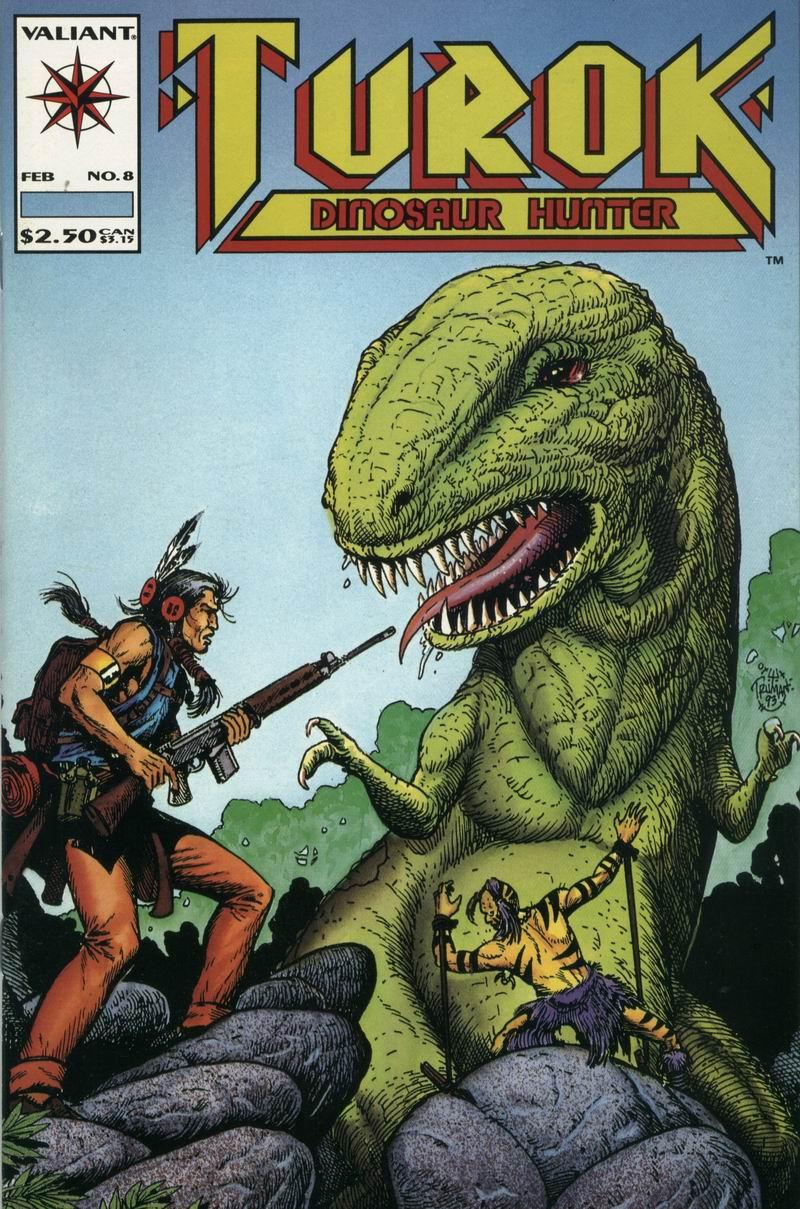 Read online Turok, Dinosaur Hunter (1993) comic -  Issue #8 - 1