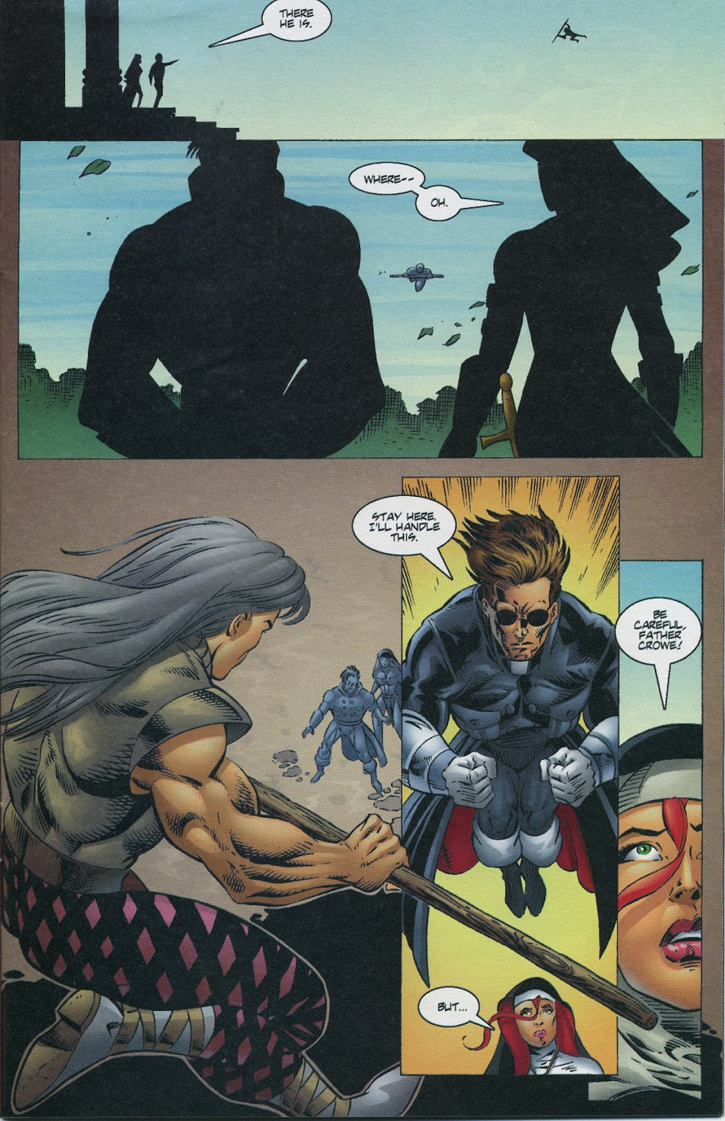 Warrior Nun Areala (1997) Issue #3 #3 - English 7