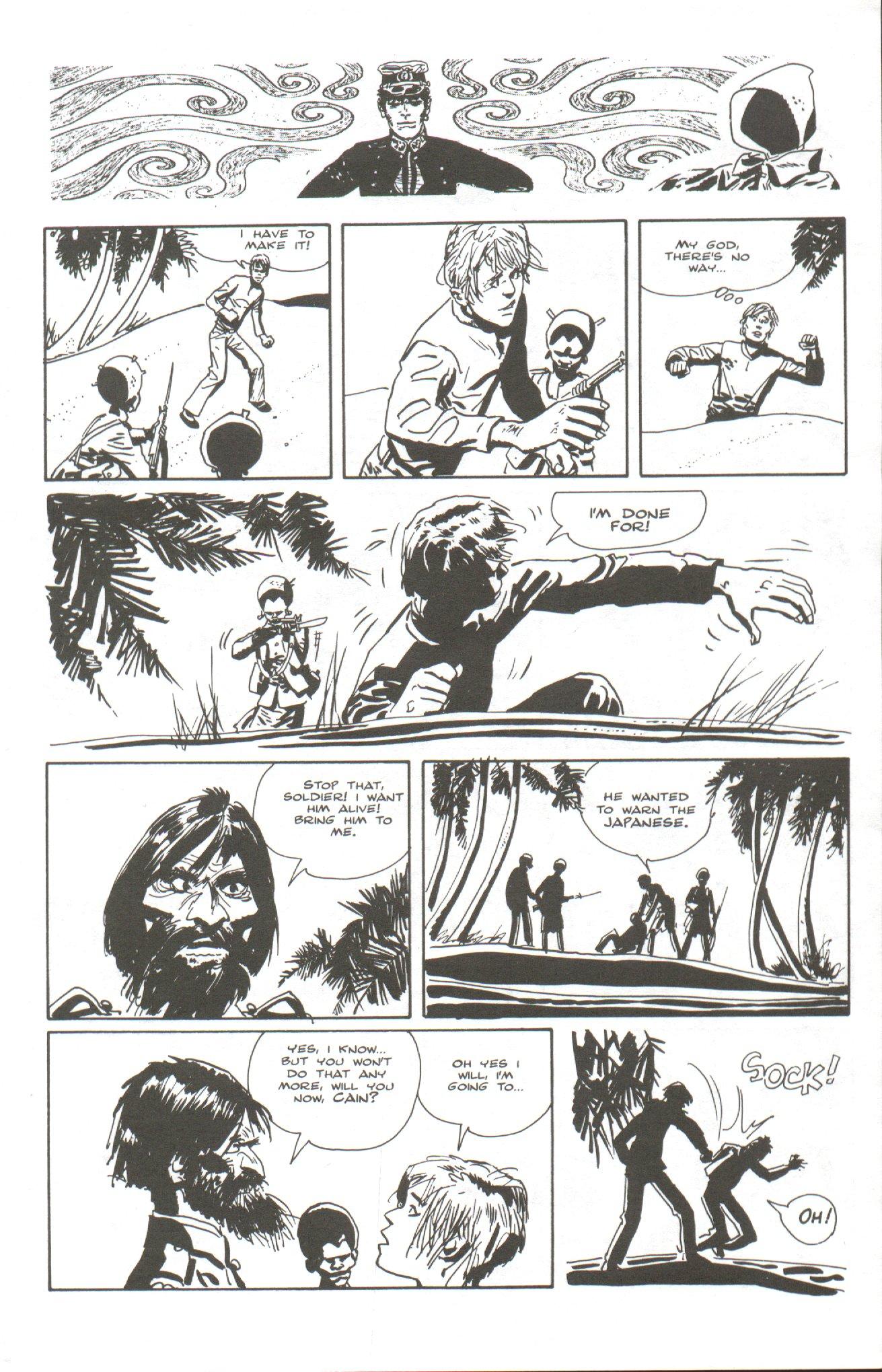 Read online Corto Maltese: Ballad of the Salt Sea comic -  Issue #5 - 5