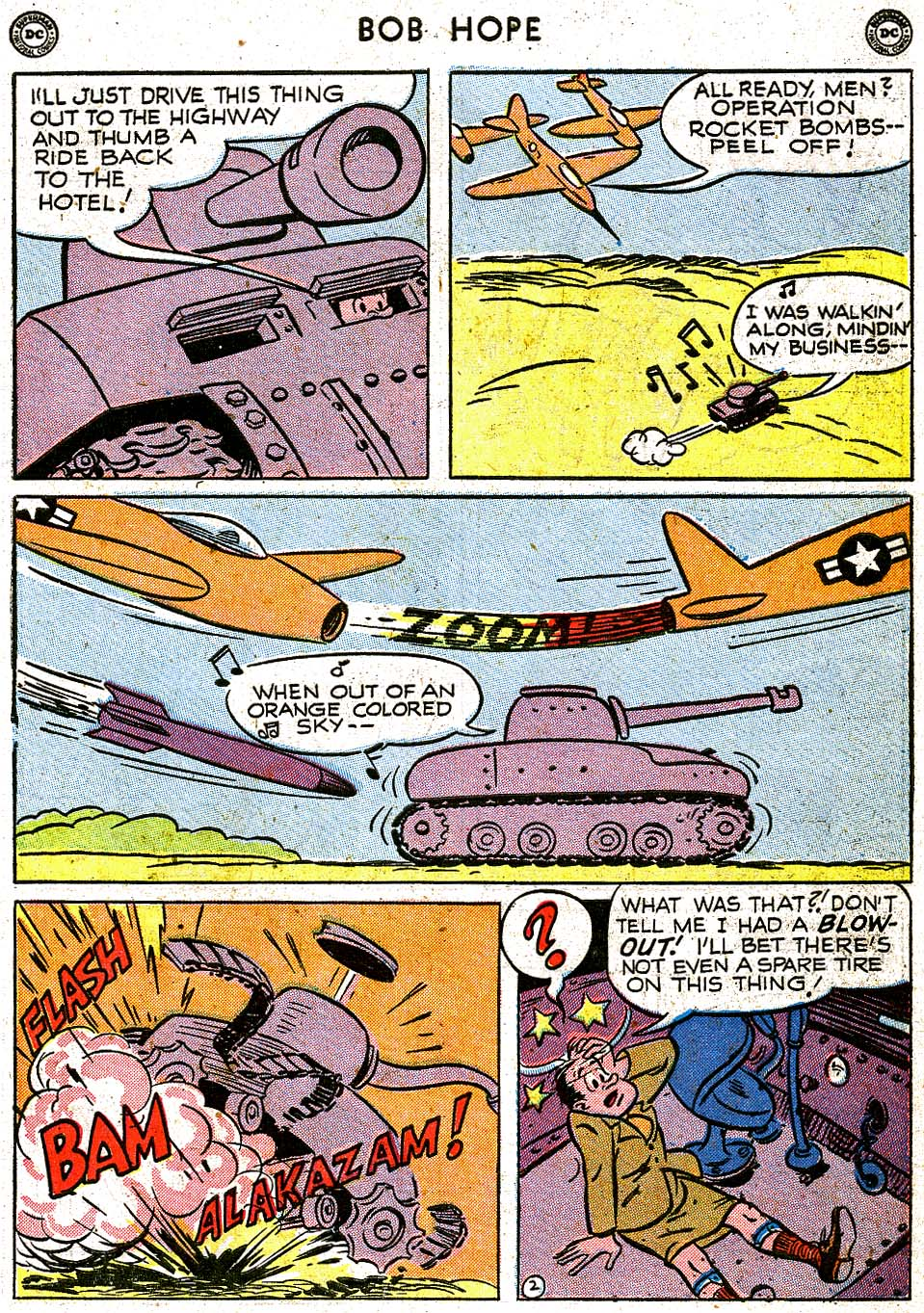 The Adventures of Bob Hope issue 8 - Page 39