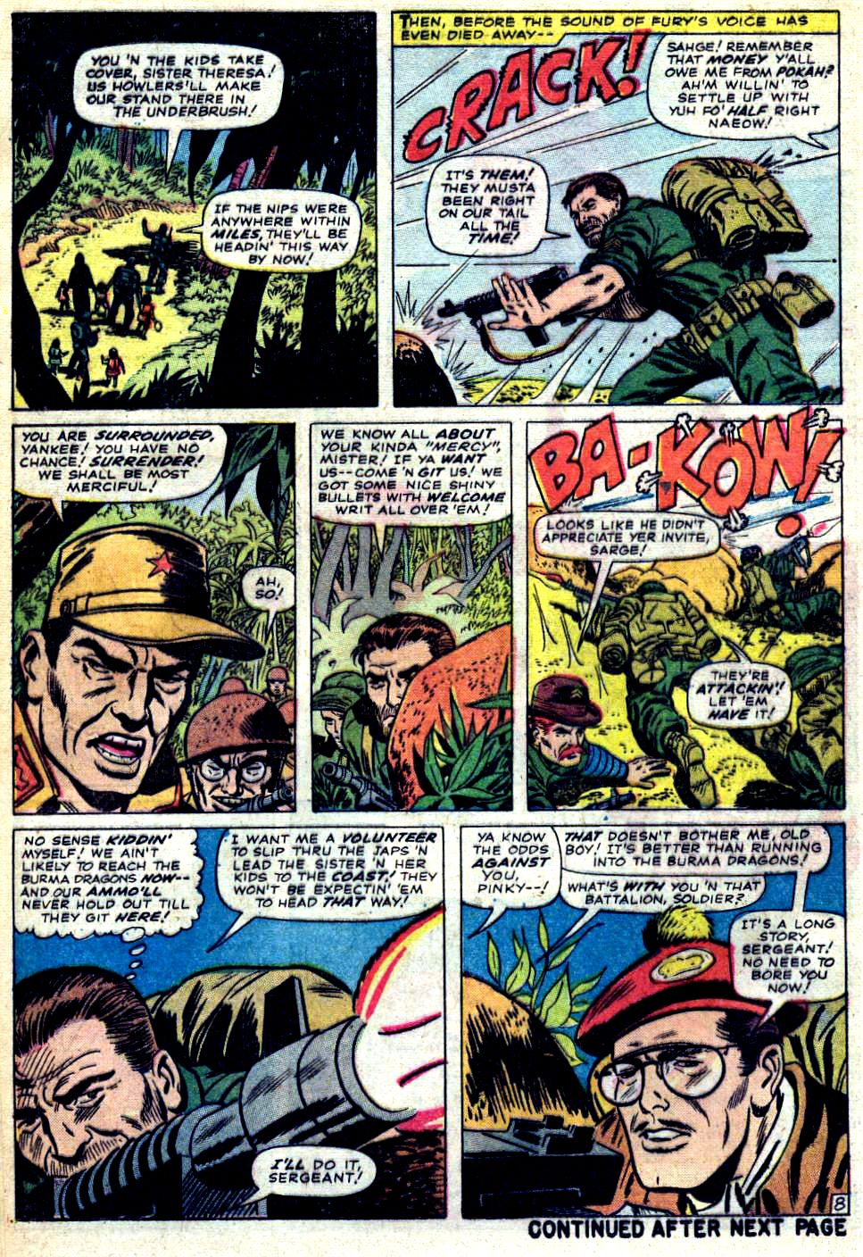 Read online Sgt. Fury comic -  Issue #23 - 12