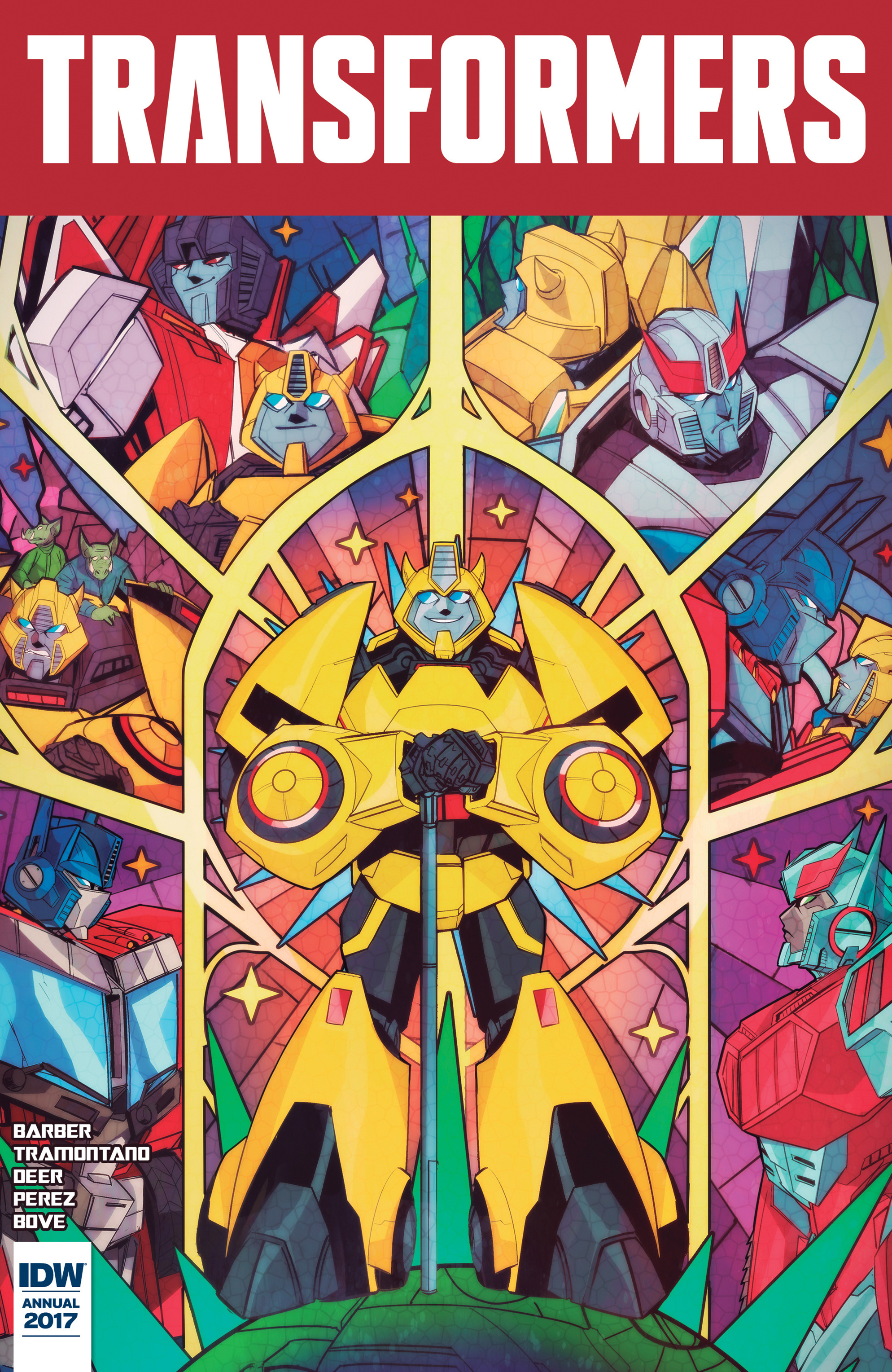 Read online Transformers Annual comic -  Issue # Full - 1