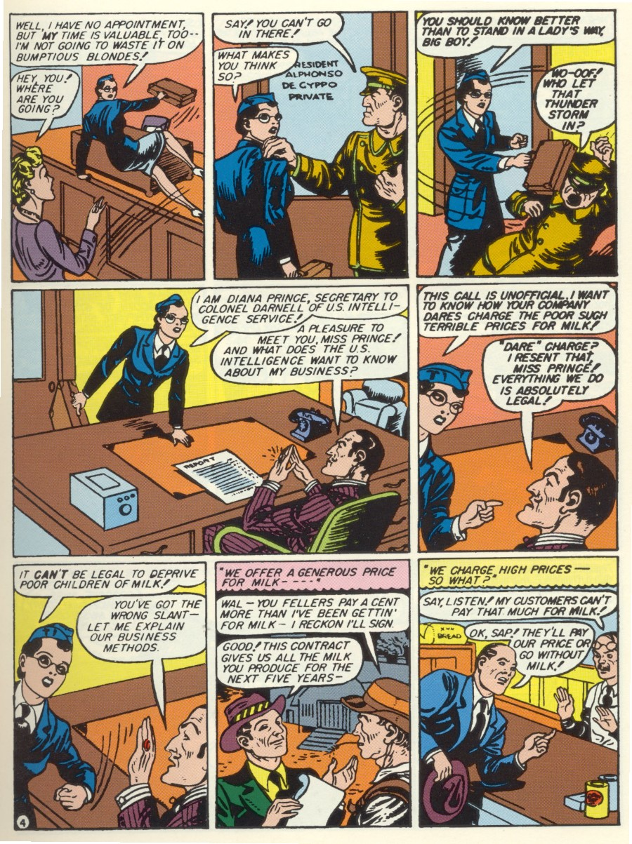 Read online Sensation (Mystery) Comics comic -  Issue #7 - 6