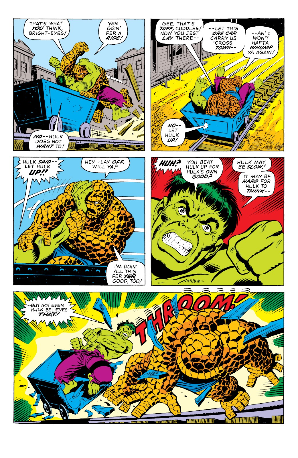 Read online Marvel Two-In-One Epic Collection: Cry Monster comic -  Issue # TPB (Part 1) - 19