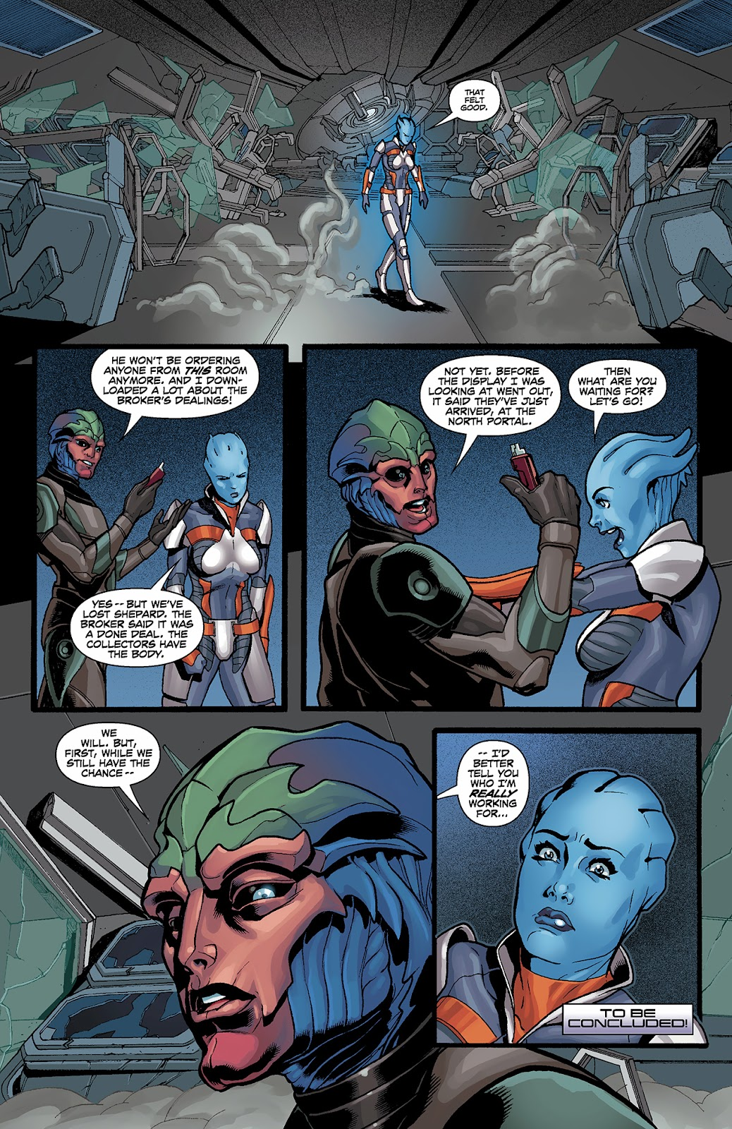 Mass Effect: Redemption Issue #3 #3 - English 23