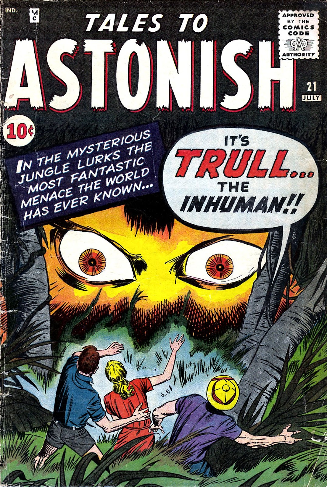 Tales to Astonish (1959) issue 21 - Page 1