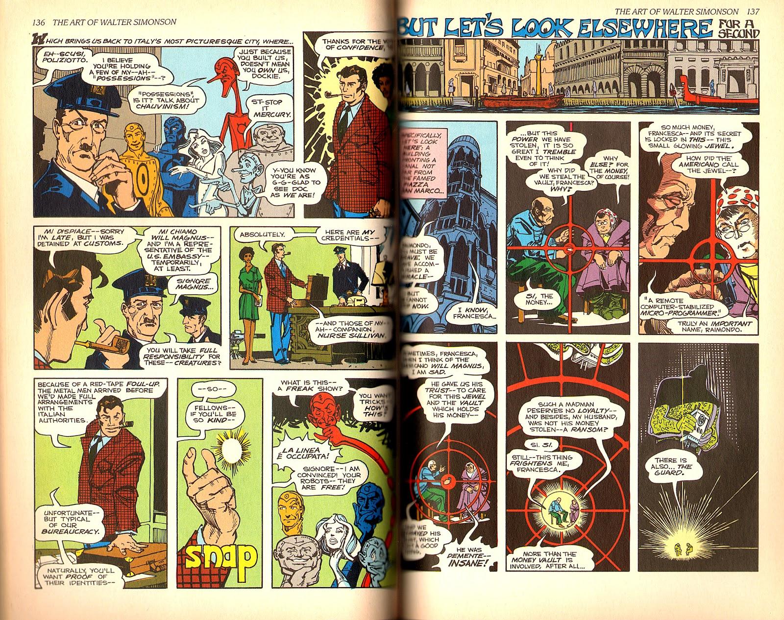 Read online The Art of Walter Simonson comic -  Issue # TPB - 70