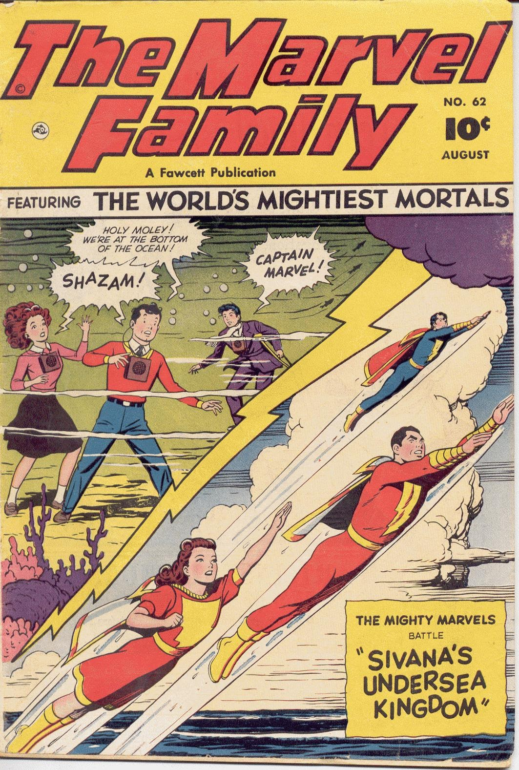 The Marvel Family 62 Page 1