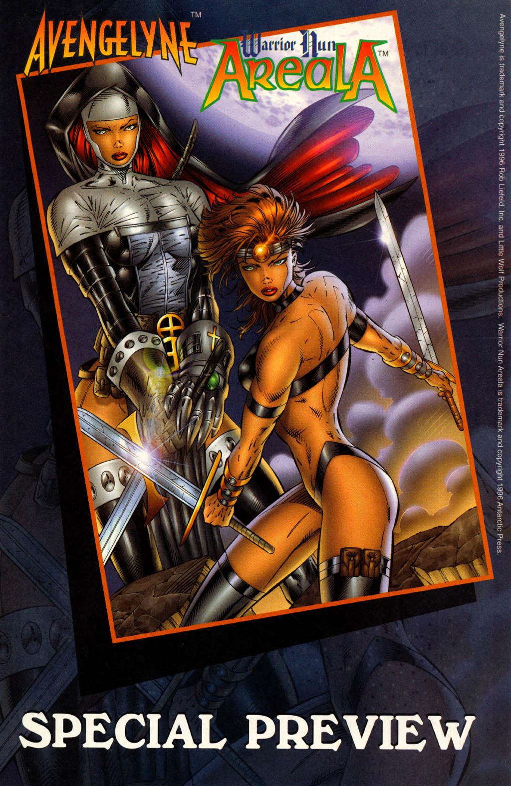 Read online Avengelyne (1996) comic -  Issue #7 - 18