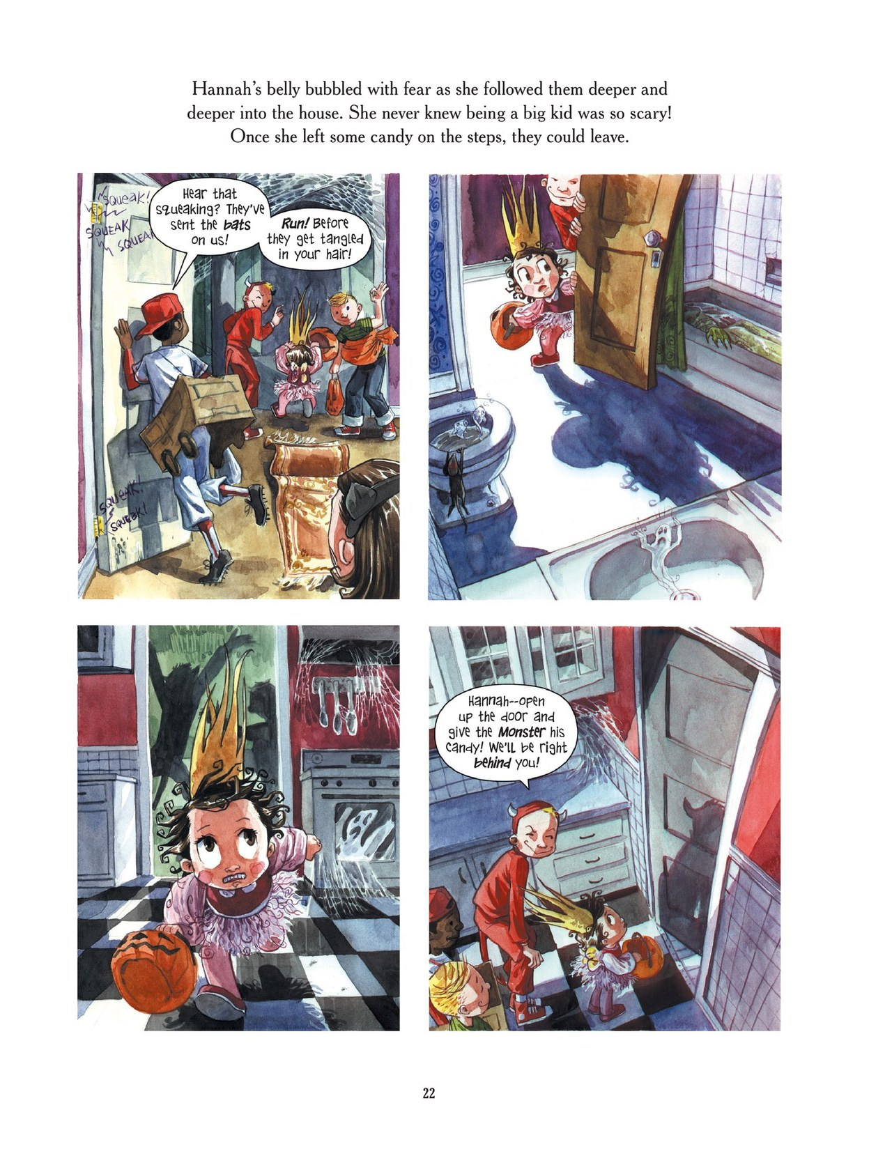 Read online Scary Godmother comic -  Issue # TPB - 22