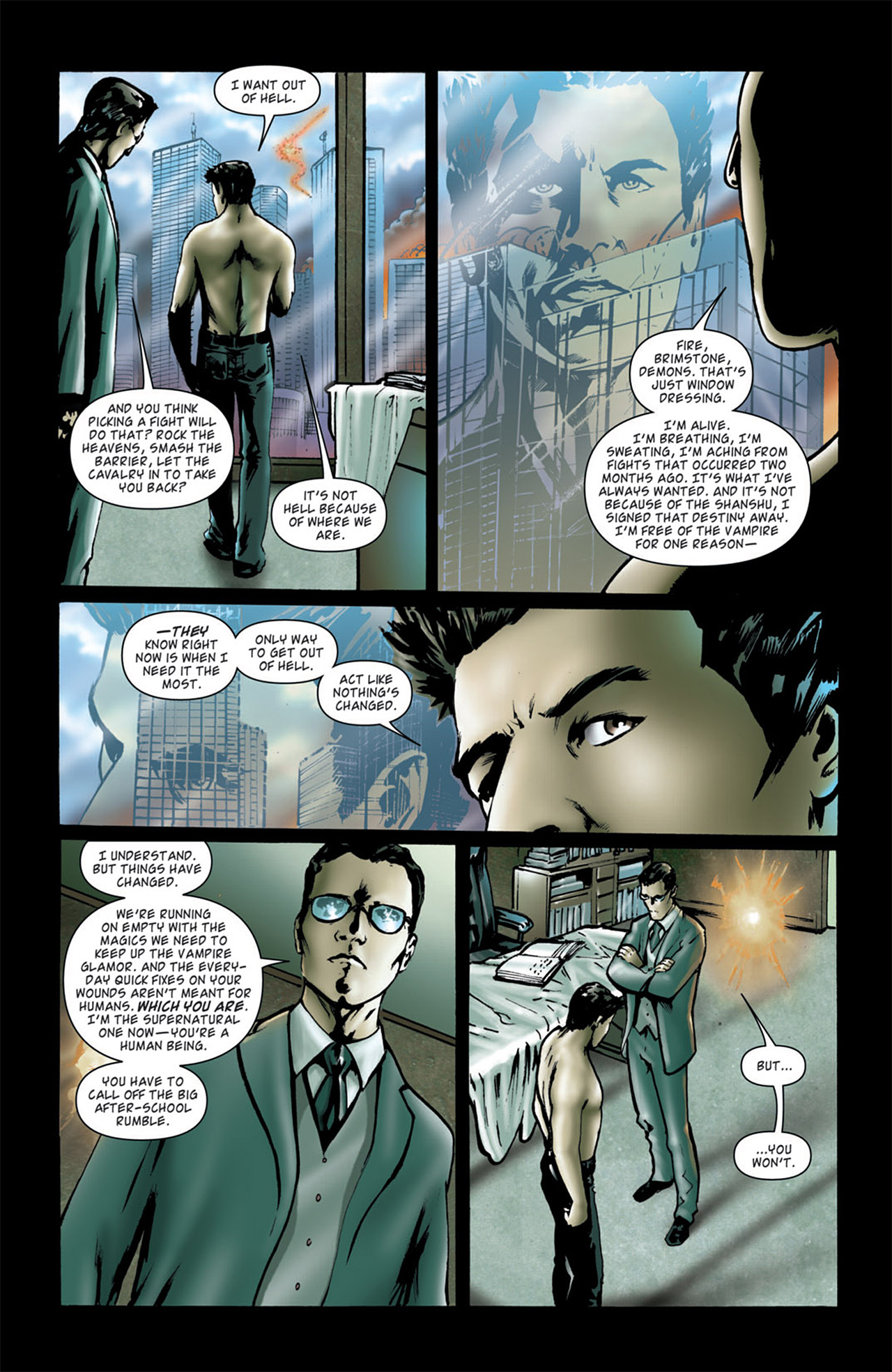 Read online Angel: After The Fall comic -  Issue #4 - 10