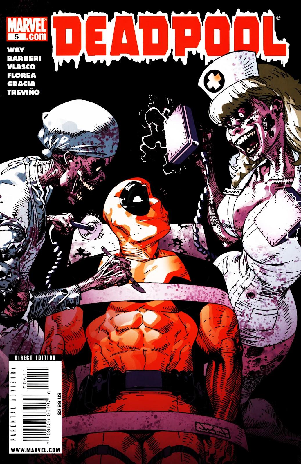 Read online Deadpool (2008) comic -  Issue #5 - 1