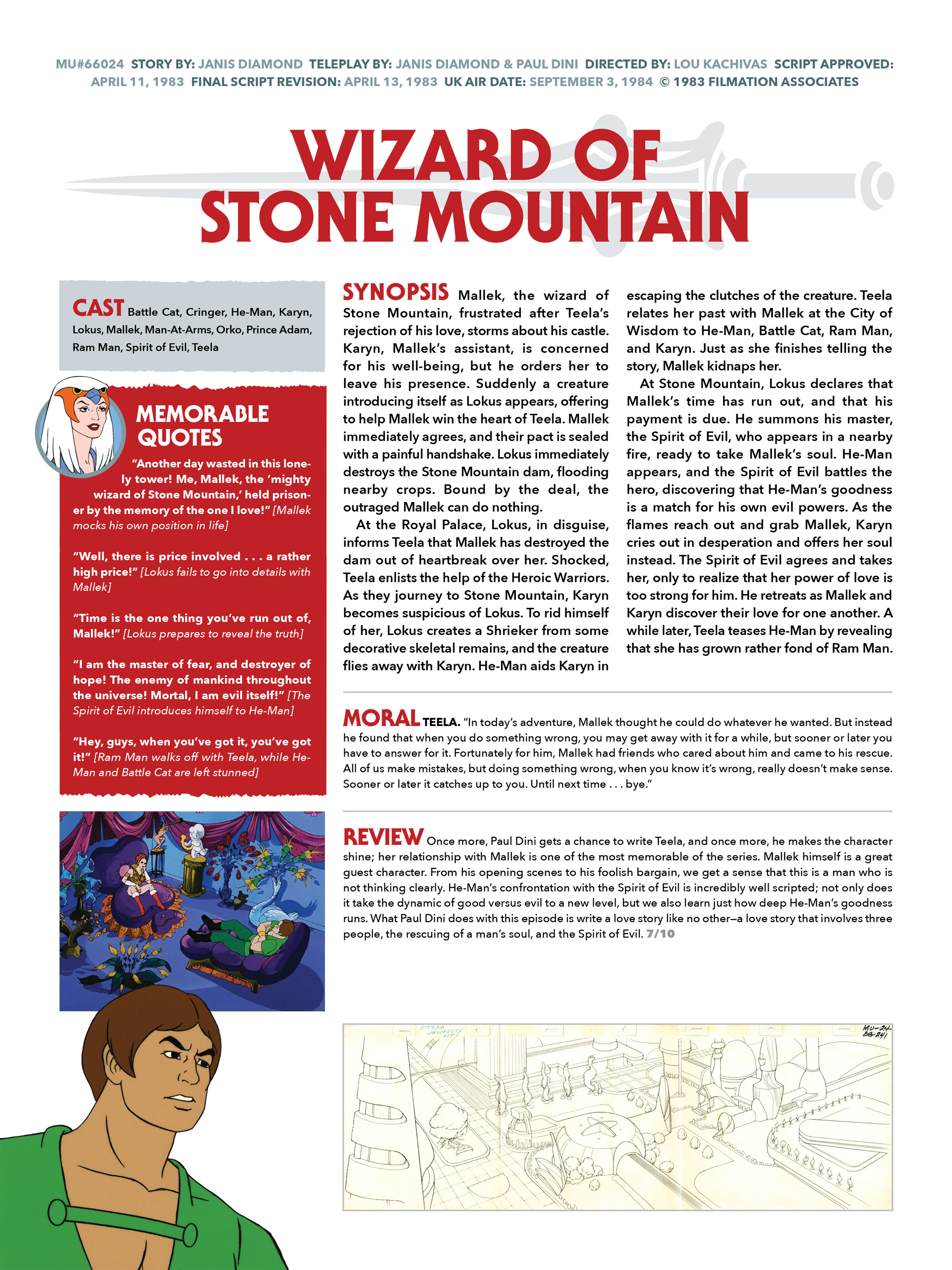 Read online He-Man and She-Ra: A Complete Guide to the Classic Animated Adventures comic -  Issue # TPB (Part 1) - 88