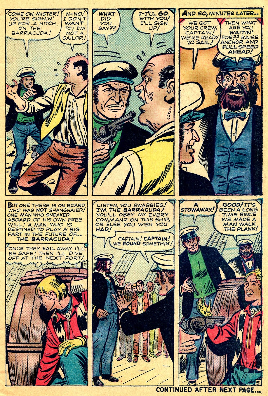 Kid Colt Outlaw issue 109 - Page 7