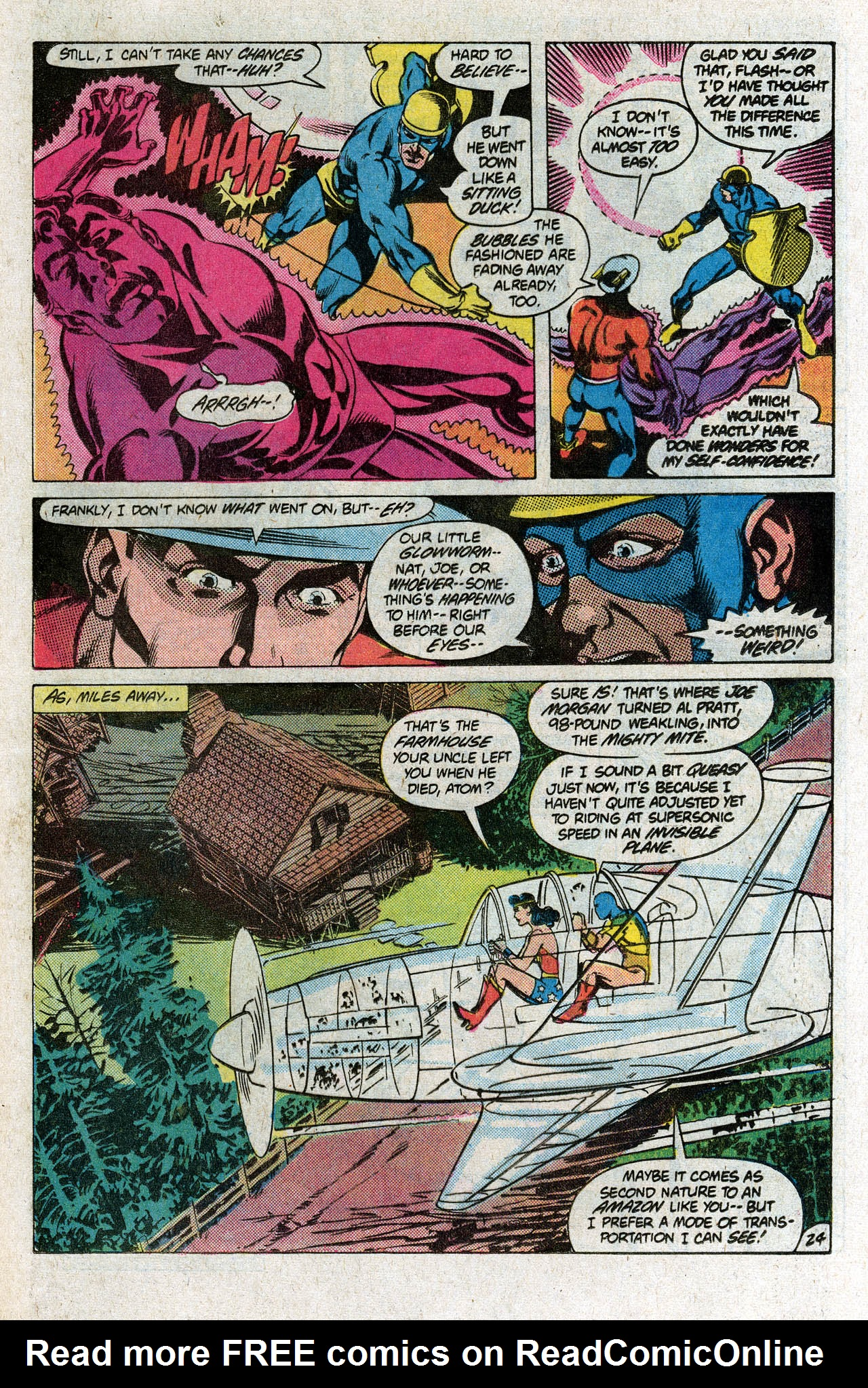 Read online All-Star Squadron comic -  Issue # _Annual 1 - 33