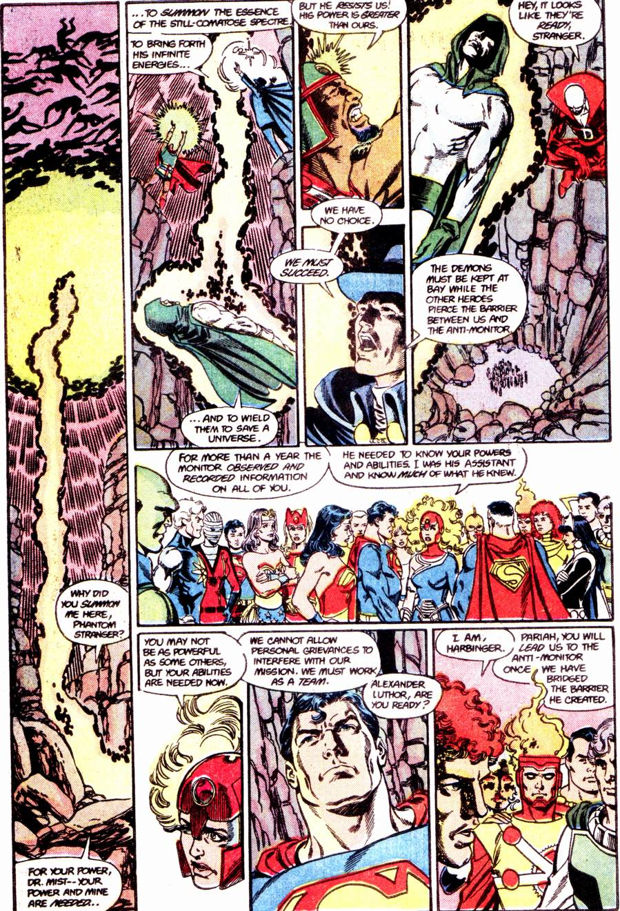 Crisis on Infinite Earths (1985) 12 Page 12