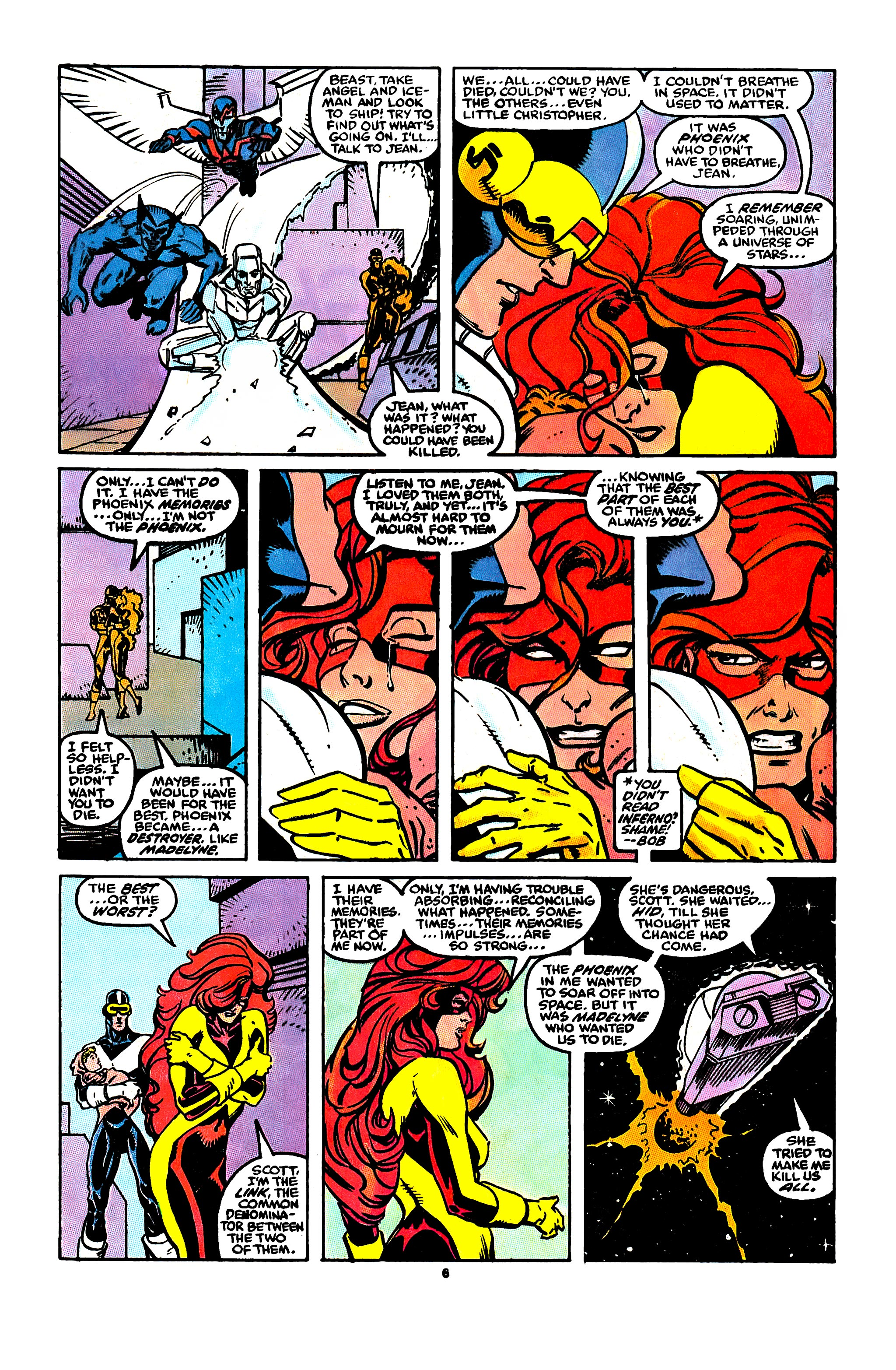 Read online X-Factor (1986) comic -  Issue #43 - 6