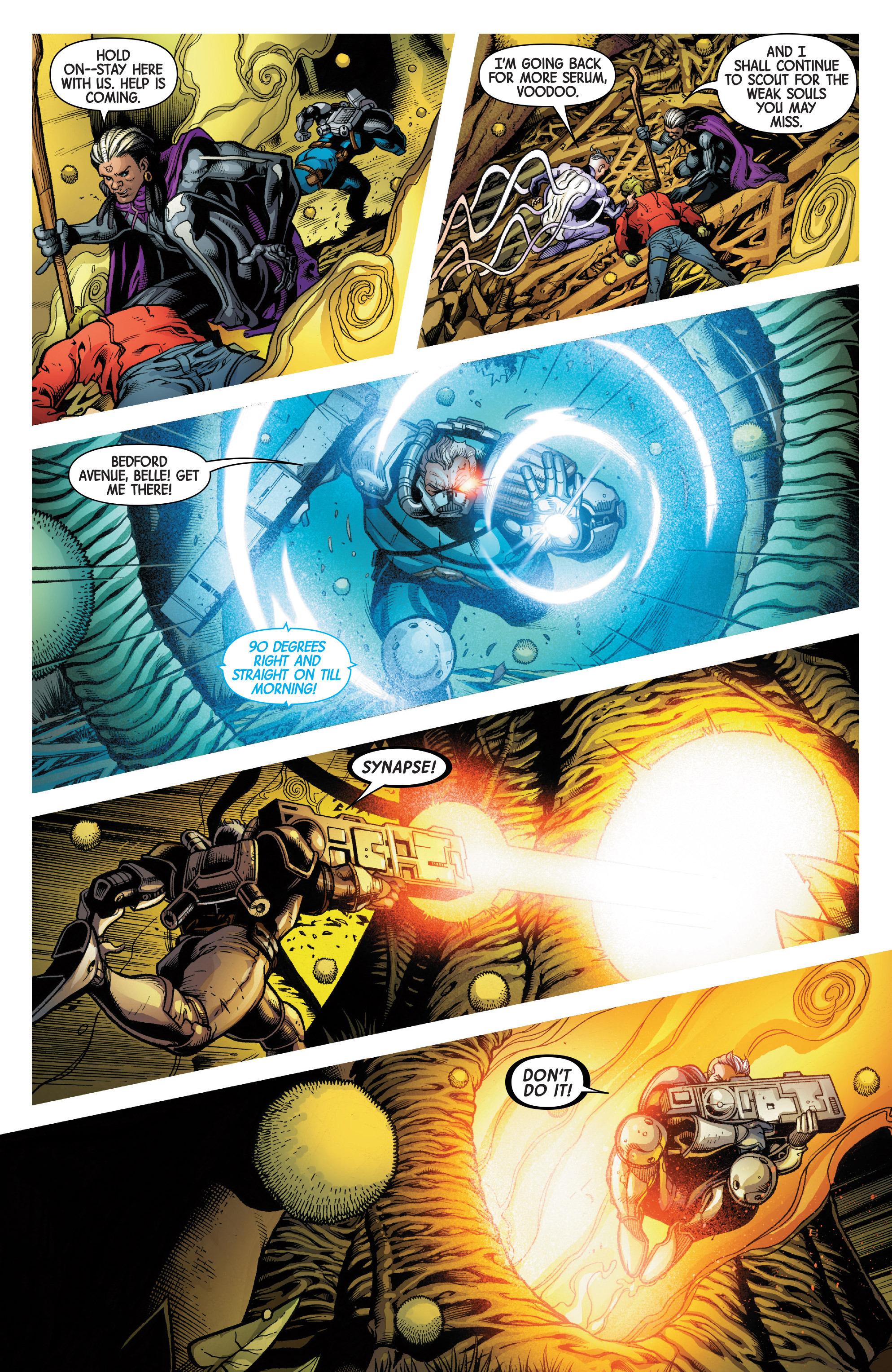 Read online Uncanny Avengers [II] comic -  Issue #4 - 11