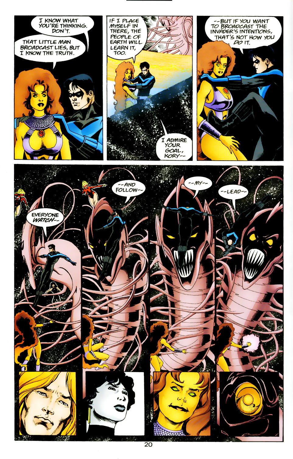 Read online The Titans (1999) comic -  Issue #50 - 21